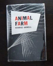 Animal Farm George Orwell 1st US Edition 1st Printing Original DJ 1946