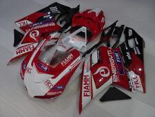 Fairing Set For Ducati 1198 1098 848 2007-2013 Kit #07 WH/RE/BK