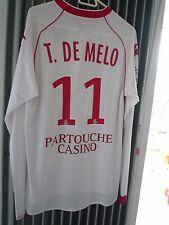 MAILLOT LOSC/LILLE porté par TULIO DE MELO Saison 2008-2009 (EXTERIEUR)
