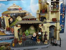 Lego Star Wars 9516 Jabba´s Palace Raumschiff mit Figuren  Anleitung und Karton