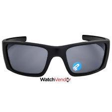 Oakley Fuel Cell Sunglasses - Matte Black/Grey Polarized