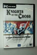 KNIGHTS OF THE CROSS GIOCO USATO OTTIMO PC CDROM VERSIONE ITALIANA GD1 45160