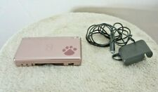 Nintendo DS Lite USG-001 Hand Held Game Console Metallic Rose, Charger Tested