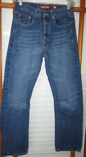 Ed Hardy Jeans Men's 32 X 32 Distressed Button Fly
