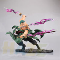 Anime One Piece Roronoa Zoro Battle Ver. Figura de acción estatua de juguete