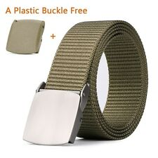 Tactical Duty EDC Belt for Men, MoAnBee Military Nylon Belt Coyote Tan Belt with