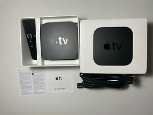 Apple TV (4th Generation) 32GB HD Media Streamer - Black A1625