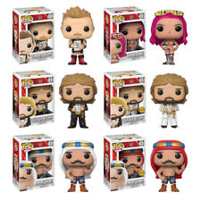 WWE Series 6 Complete Set W/CHASE (6) Funko Pop! Iron Sheik, Sasha, Jericho More