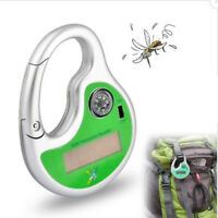 Home & Garden Outdoor Portable Electronic Solar Ultrasonic Mosquito Insect Killer Mosquito Repeller Hook Pest Repeller With Compass Aesthetic Appearance