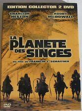 2DVD LA PLANETE DES SINGES - Charlton HESTON / Roddy McDOWALL - COLLECTOR