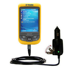 Car & Wall 2 in 1 Charger fits Trimble Juno ST