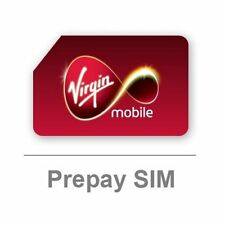 Virgin Mobile Sim Card - Pay As You Go - BRAND NEW - Free Postage - PAYT