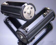 New Hold 3 AAA Battery Holder Plastic Case For Flashlight