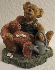 "Tersa Kogut Country Bears - Bear with Hare Figurine 4"""