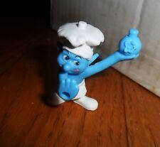 1 Stk. Schlumpf  als Koch, Schlümpfe-Figur  auch zusammensteckbar