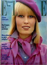 ELLE 1974: BRIGITTE BARDOT_LIV ULLMANN_ANNY DUPEREY pose en YVES SAINT-LAURENT