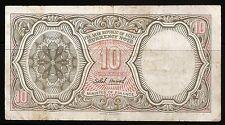 Billet 10 Piastres 1952-1958. Egypte