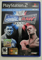 SmackDown vs Raw 2006 - Playstation 2 - PS2 - COME NUOVO