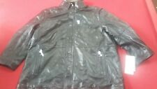 Excelled men's Leather 3/4 length coat, size 3 XL.  New with tags