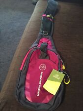 Tanluhu Jingpinbag Pink/Grey Travel Bag with/ Adjustable Strap NEW