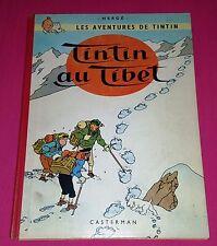 RARE EO 1960 / TINTIN AU TIBET / EO BELGE TRÈS BON ETAT / VOIR PHOTOS