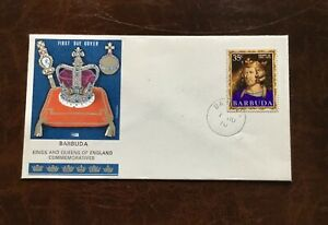 Barbuda 1970 Cover - Kings & Queens of England Commemoratives Henry VIII