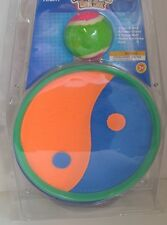 New Play Right Magic CATCH BALL Set Ages 3+ Ying Yang Orange BLUE Green Disks