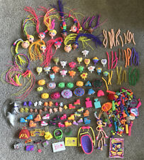 HUGE LOT OF PIECES VINTAGE BETTY SPAGHETTY DOLLS CLOTHES ACCESSORIES CAT BABY