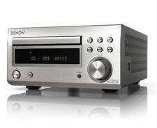 Denon RCD-M41DAB Mini CD Receiver Bluetooth UKW/DAB/DAB+ Silber