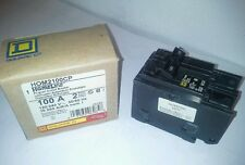 SQUARE D 100A HOMELINE MAIN BREAKER HOM2100CP--FREE PRIORITY SHIP