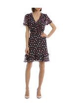 NEW Hi There From Karen Walker Amore Print Ruffle Hem Dress Assorted