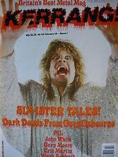 Kerrang 114 - Ozzy Osbourne - Gary Moore - Motley Crue
