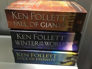 "Follett, Ken : ""Century Trilogy "" set collection paperback x 3"
