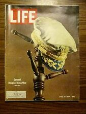 LIFE MAGAZINE 1964 GENERAL DOUGLAS MACARTHUR DEATH MILITARY MEMORIAL OBITUARY