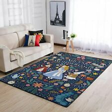 Alice's Adventures in Wonderland Area Rugs / Disney Living Room Carpet