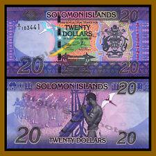 Solomon Islands 20 Dollars, ND 2017 P-New Unc