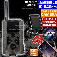 Trail Camera Wireless Solar 3G GSM MMS Security Alarm Home Farm No Spy Hidden