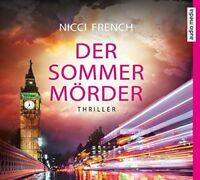 SANDRA SCHWITTAU - DER SOMMERMÖRDER -NICCI FRENCH  MP3 CD NEU