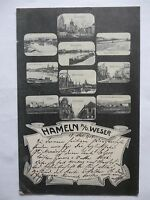 Ansichtskarte Hameln a.d. Weser 1905