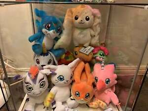 Digimon Plush Bundle - BRAND NEW + Display Only-Japan Import(Included 10 plushs)