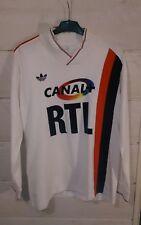 Maillot PSG porté par Thierry Rabat Rennes – PSG le 28/03/87