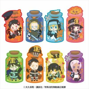 """set of 8CharaToria """"Fire Force"""" 4589802628613"""