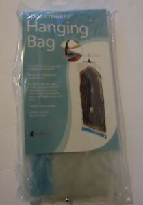 WHITMOR  SPACEMAKER CLEAR TRIPLE STORAGE HANGING BAG STYLE #6247-800