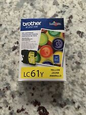 Brother LC61Y LC-61Y Ink Cartridge Yellow