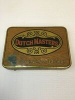 Nice Vintage Dutch Masters Cigar Tobacco Litho Advertising Tin New York