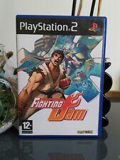 Fighting Jam - capcom - jeu ps2 - complet avec notice - fr