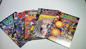 CYBERFORCE 1st series #0-4 (Image Comics)1992 Complete run VF/NM-NM or better