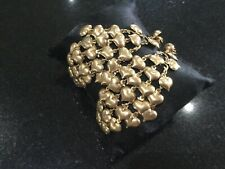 Juicy Couture New & Genuine Gold Plated Drop Chain Heart Earrings (Pierced)