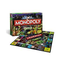 WINNING MOVES MONOPOLY TEENAGE MUTANT NINJA TURTLES NEU