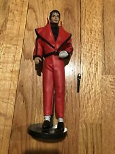 """Michael Jackson Action Figure Doll Thriller Outfit Red 1984 LJN INC. MJJ 12"""""""